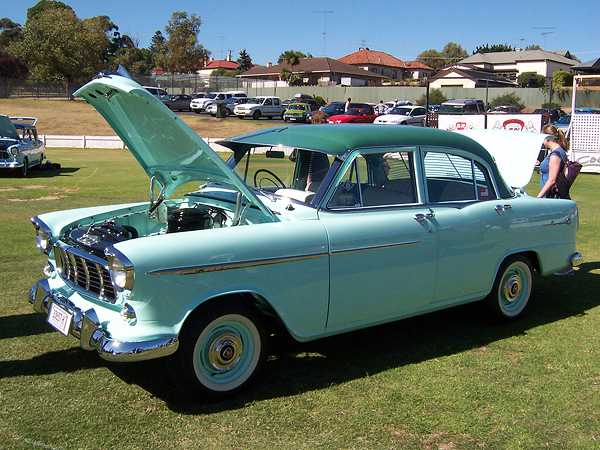 Leon's FE on display at the 12th Nationals, Mt Gambier